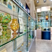 Moser glass museum